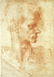 Michelangelo_Head-of-a-Man-in-Profile-2___Selected