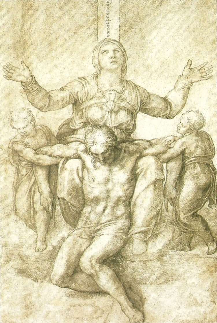 Michelangelo_Pieta-Drawing___Selected