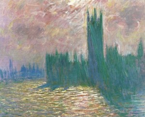 Monet Parliament Reflections on the Thames