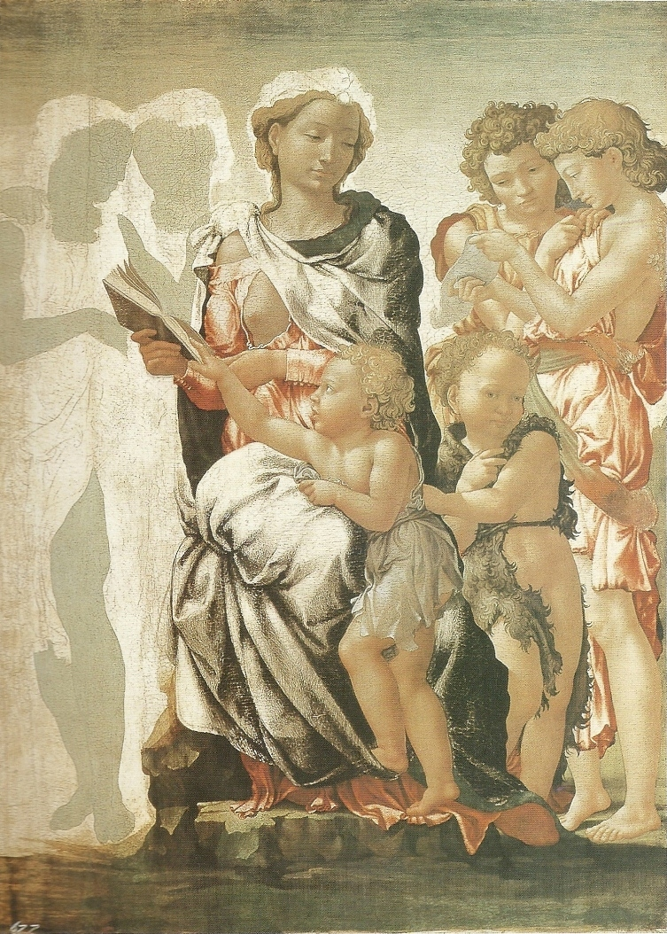 The Manchester Madonna (The Virgin and Child with Saint John and Angels)