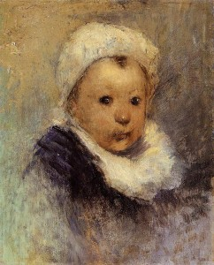 Portrait of a Child (Aline Gauguin)