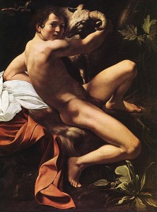 John the Baptist, Youth with Ram